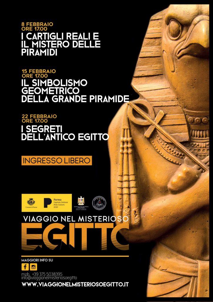 Viaggio nel Misterioso Egitto a Parma, Febbraio 2020